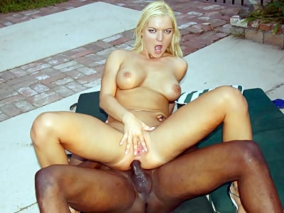 Barbara Riding a Huge Black prick